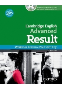 Cambridge English Advanced Result WB
