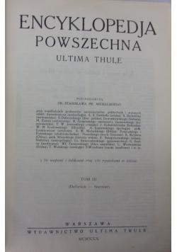 Encyklopedia Powszechna tom III