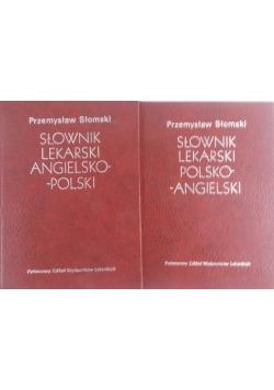 Słownik lekarski polsko-angielski - Słownik lekarski angielsko -polski
