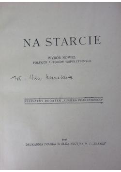 Na starcie. 1937 r.