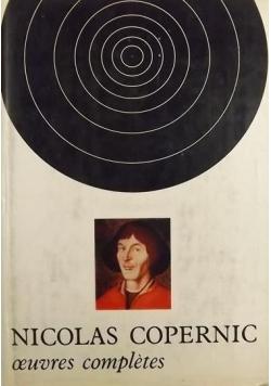 Nicolas Copernic oeuvres completes