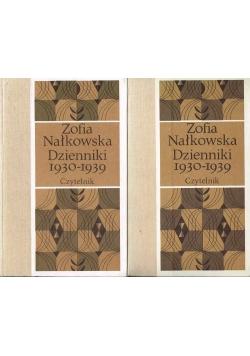 Zofia Nałkowska Dzienniki 1930-1939 cz. 1 i cz. 2