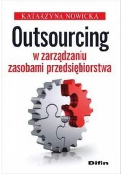 Outsourcing w zarządzaniu zasobami przed.