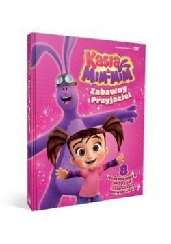 Kasia i Mim Mim. Zabawny przyjaciel (książka+DVD)
