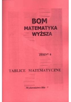 BOM Matematyka Wyższa. Tablice matematyczne