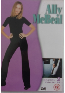 Ally McBeal, płyta DVD