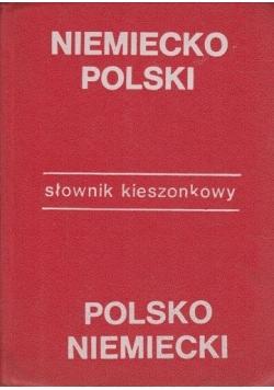Słownik kieszonkowy niemiecko polski , polsko niemiecki