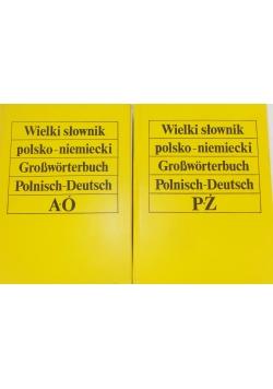 Wielki słownik polsko - niemiecki A-Ó , P-Ż