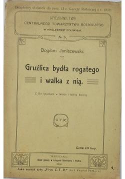 Gruźlica bydła rogatego i walka z nią, 1912 r.