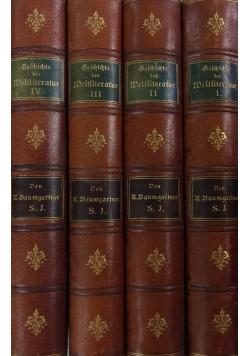 Geschichte der Weltliteratur, 4 tomy. 1900 r.