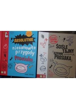 Śmieszne Tajny dziennik Prosiaka /Absolutnie niesamowite przygody Prosiaka