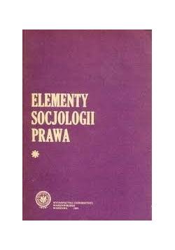 Elementy socjologii prawa