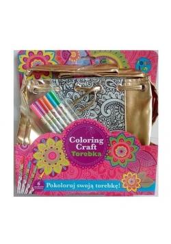Coloring Craft. Torebka metaliczna worek
