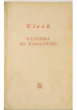 Wątróbka po Warszawsku