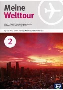 J. Niemiecki 2 Meine Welttour ćw NE