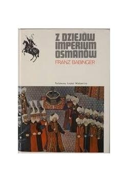 Z dziejów imperium Osmanów