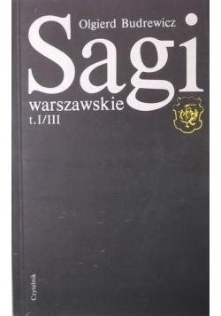 Sagi warszawskie, t. I-III