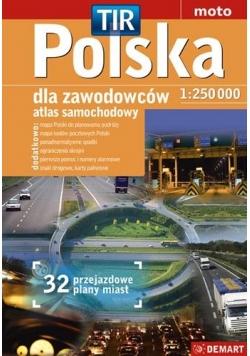 Atlas sam. Polska dla zawodowców 1:250 000 w.2016