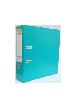 Segregator A4 5cm PP turkusowy Q file