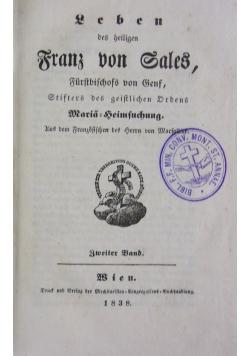 Leben des heiligen. 1838 r.