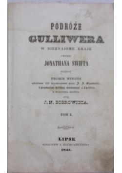 Podroże Guliwera w nieznajome kraje, 1842 r.