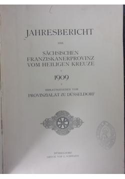 Jahresbericht der Sachsischen Franziskanerprovinz vom Heiligen Kreuze, 1909 r.