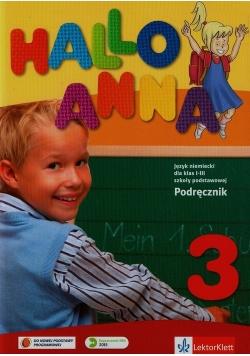 Hallo Anna 3 Podręcznik + CD