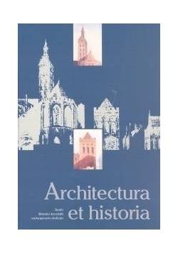 Architectura et historia