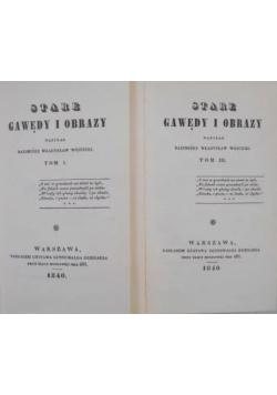 Stare gawędy i obrazy, 1-2 i 3-4