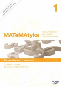 MATeMAtyka LO 1 ZPR ćw. i zadania w.2012 NE