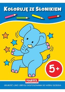 Koloruję ze słonikiem