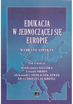 Edukacja w jednoczącej się europie