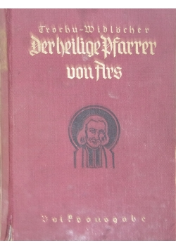 Der heilige Pfarrer von Ars, 1936 r.
