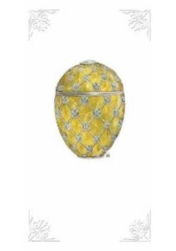 Karnet 12x23 G06 29A 221 + koperta Jajko złoty