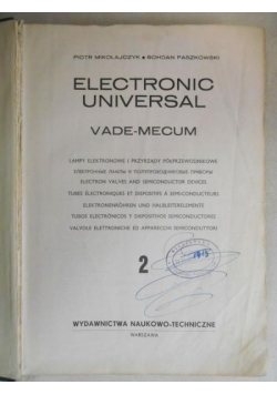 Electronic universal Vade-mecum, Tom 1