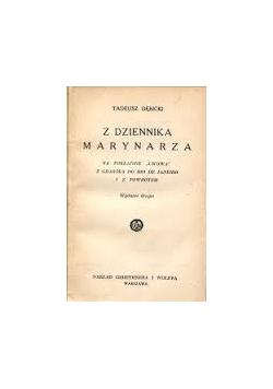 Z dziennika marynarza, 1925r.