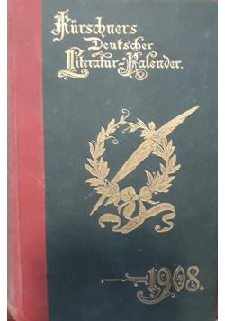 Kurschners deutscher literatur kalender, 1908 r.