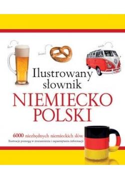 Ilustrowany słownik niemiecko-polski (żółty)