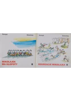 Mikołajek ma kłopoty/Rekreacje Mikołajka - 2 książki