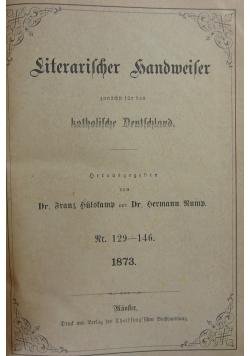 Literarischer Handweifer, 1873r.