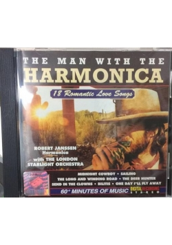 The man with the harmonica 18 romantic love songs, CD