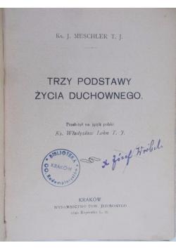 Trzy podstawy życia duchowego, 1917 r.