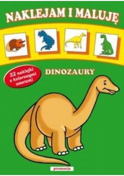 Naklejam i maluję Dinozaury w.2013 SIEDMIORÓG