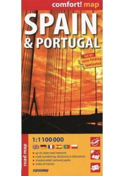 Hiszpania i Portugalia 1:1 100 000 comfort!map