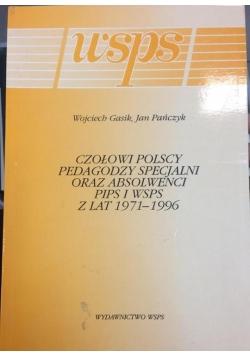 Czołowi polscy pedagodzy specjalni oraz absolwenci PIPS i WSPS z lat
