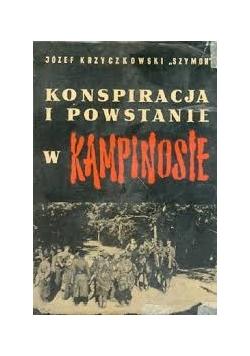 Konspiracja i powstanie  w  Kampinosie