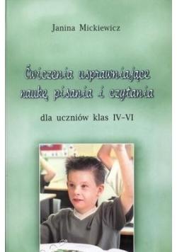 Ćwiczenia usprawn. naukę pisania i czytania 4-6
