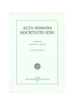 Acta Romana Societatis Iesu