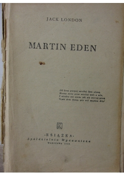 Martin Eden, 1948r.