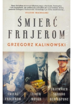 Pakiet: Śmierć frajerom /Złota maska /Tajemnica..
